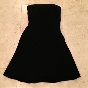Ann Taylor Dresses - Black Velvet Dress
